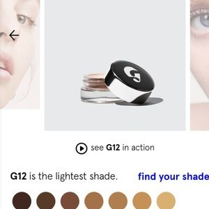 NWT- Glossier G12 stretch concealer